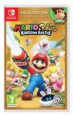 Mario + Rabbids Reino batalla Gold Edition Nintendo Switch Nuevo Sellado