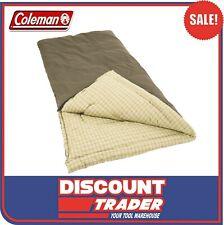 Coleman Big Game C-6 Camping Sleeping Bag with a Pillow 1378752