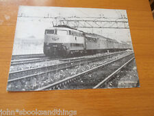 TRENO ESPRESSO TRAINATO DA TARTARUGA E 444.076 PRESSO VENEZIA NEL 1978 FERROVIE
