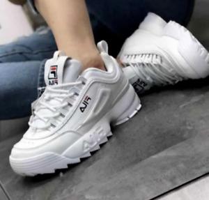 FILA Damen Cool Sportschuhe Freizeitschuhe Sportschuhe Laufschuhe White Fashion