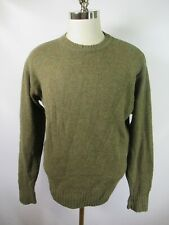 E8997 VTG PENDLETON Shetland Wool Nordic Norwegian Irish Pullover Sweater Size M