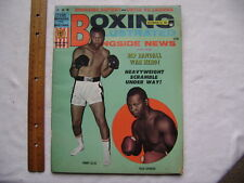 1967 Boxing Illustrated Magazine. Jimmy Ellis, Thad Spencer Cover.