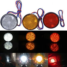 24LED 3528 Cars Trailer Truck Round Tail Brake Waterproof Light Turn Signal Stop