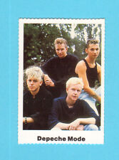 Depeche Mode Vintage 1980s Pop Music Swedish Collector Card