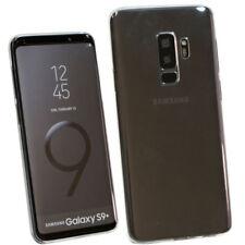 Custodia AIR trasparente copri fotocamera+tappi pr Samsung Galaxy S9+ Plus G965F