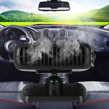 2 in 1 Car Ceramic Heating Cooling Heater Fan Defroster Demister Portable DC 12V