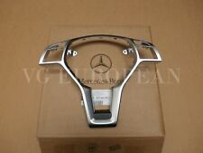 Mercedes Benz Genuine W204 C-Class Silver Steering Wheel Trim Cover