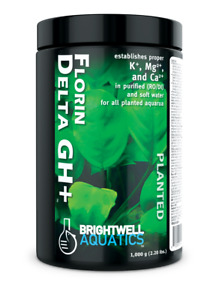 Brightwell Aquatics Florin Delta GH+ Plant Fertilizer GH Booster Planted Tank