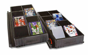 4 x ULTRA PRO One Touch Toploader Sorting Storage Tray 32 Slots Compartments