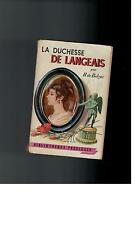 H. de Balzac - La Duchesse de Langeais