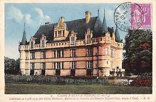 Br54102 Chateau d azay ke riedeau france