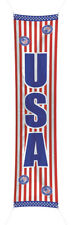 USA AMERICAN LONG HANGING PARTY BANNER 3M