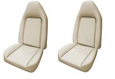 Mopar 73 74 E-body Challenger Cuda Barracuda Molded Bucket Seat Foam Pair-NEW