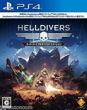 Helldivers Sony Ps4 Playstation Japanese Japanzon Com