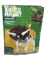 Animal planet Dinosaur Dog Costume Fancy Dress halloween dress up outfit X Small