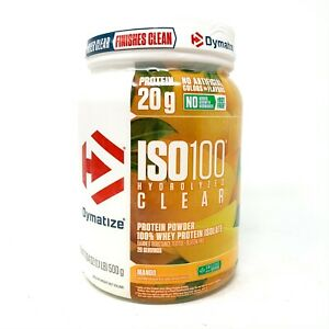 Dymatize ISO-100 CLEAR Hydrolyzed 100% Whey Protein Isolate 20SRV Exp. 3/2021