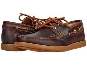 Man's Boat Shoes Clarks Ferius Coast