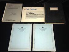 1950's & 60's RCA Flight Laboratory Documents Delaware Aeronautical Engineering
