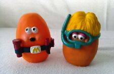 Vintage Lot of Two McDonald's Happy Meal McNugget Buddies 1988 Toys