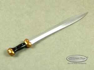 "1/6 Scale Phicen, TBLeague, Hot Toys - Greek Spartan Warrior Sword 5.25"" Length"