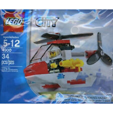 Lego City Fire Mini Helicopter Brand New! Set No. 4900 Great Gift Idea!!