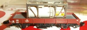 Z Scale Marklin Flat With cylinder Load VGC No Box