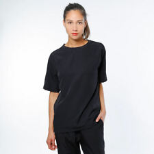 T-shirt SWEET DENIM My Little Woven Maglietta Donna streetwear lucida Nero S