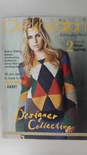 Cleckheaton Pattern Book #3007 Designer Collection by Nikki Gabriel 2 Designs