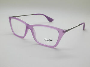 NEW Authentic Ray Ban RB 7022 5367 Shirley Matte Violet 52mm RX Eyeglasses