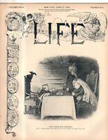 1900 Life April 5 - Queen Victoria; Jewish theatre scams; Boston meanest city?