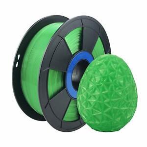 Translucent Green Flexible TPU 3D Printing Filament 1kg/2.2lb 1.75mm