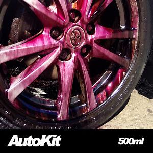 Decon X Bleeding Fallout Remover Car Alloy Wheel Body Cleaner Iron Detox 500ml