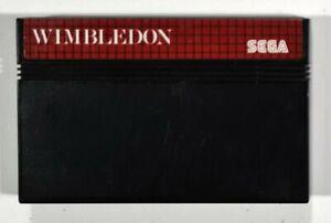 SEGA Master System WIMBLEDON Tennis/Sport/Mehrspieler/Multiplayer/Center Court