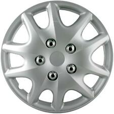 """QUALITY 15"""" GEARX WHEEL COVERS SILVER BUHOMA STYLE SET OF 4"""
