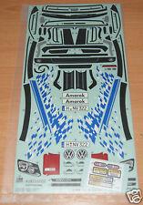 Tamiya 58603 Volkswagen Amarok/WT01/CC01, 9495853/19495853 Decals/Stickers, NIP