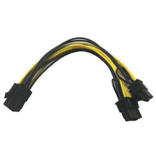 Module 6Pin to Dual PCI-E PCIe 8Pin  20cm for Thermaltake Tt 650 W0163 PSU F2B6