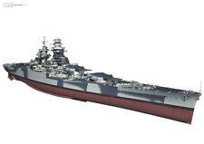 Cuirassé Richelieu - Portfolio (10 planches 3D & Plan)
