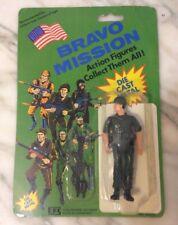 Bravo Mission Die Cast Metal 1989 Military Soldier Army Action Figure - NIP