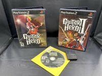 PLAYSTATION 2 PS2 GUITAR HERO TRILOGY I II III (1 2 3) LEGENDS ROCK MEMORY CARD