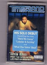 Timbaland - Tim's Bio (Nov-1998, Blackground/Atlantic) rap [PA] Cassette NEW