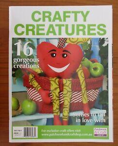CRAFTY CREATURES Vol 2 No 4 Magazine with pattern insert VGC