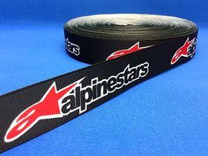Alpinestars motorcycle apparel logo Cake/ Craft grosgrain ribbon @ MrsMario's