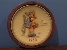 M J Hummel Plate 1980 10th Annual Plate Hum 273 Framed