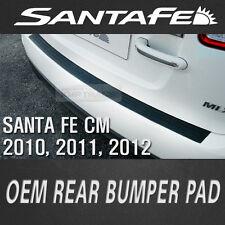OEM Rear Bumper Pad Scuff Rubber Protector for HYUNDAI 2010-2012 Santa Fe CM