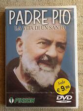 Padre Pio la vita di un santo - DVD NUOVO SIGILLATO