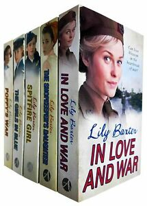 Lily Baxter 5 Books Collection Set Poppy's War, Spitfire Girl, Girls in Blue NEW