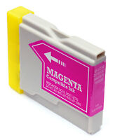 1 Mediarange remanufactured Magenta Brother LC970 LC1000 M ink cartridge MRB1000