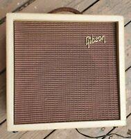 1961 Gibson GA-5T Tremelo Guitar Amp - Skylark - Les Paul Jr - Tube Amplifier
