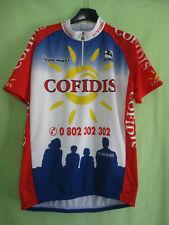 Maillot Cycliste Cofidis Team 1998 Giordana Fondriest vintage jersey - XXL