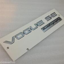 RANGE ROVER VOGUE SE AUTOBIOGRAPHY BADGE , REAR BOOT TAILGATE DECAL*NEW*GENUINE